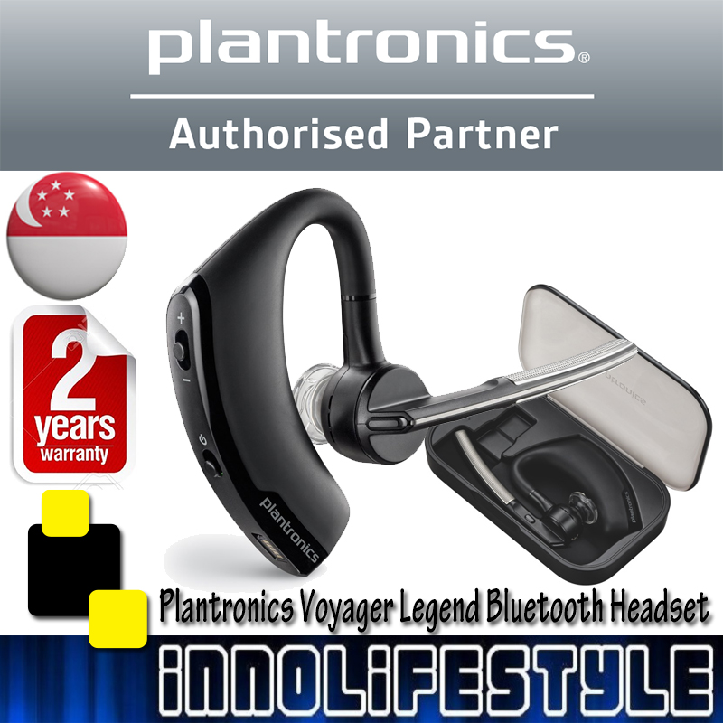Plantronics Voyager Legend Wireless Bluetooth Headset With Charging Case Electronics Audio On Carousell