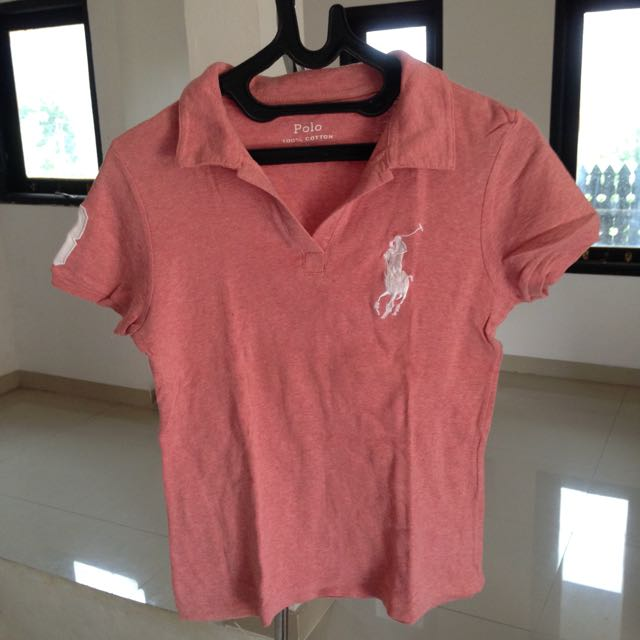 [POLO] Pink Top