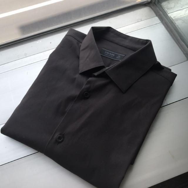 Prada 上衣 衣服 長袖 39號 M號