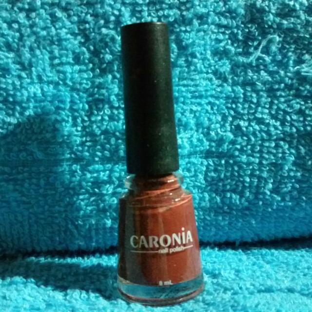 Pre-loved Caronia Nail Polish in Tahiti Brown