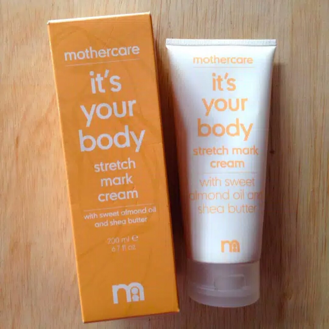 Preloved Mothercare it's your body stretch mark cream
