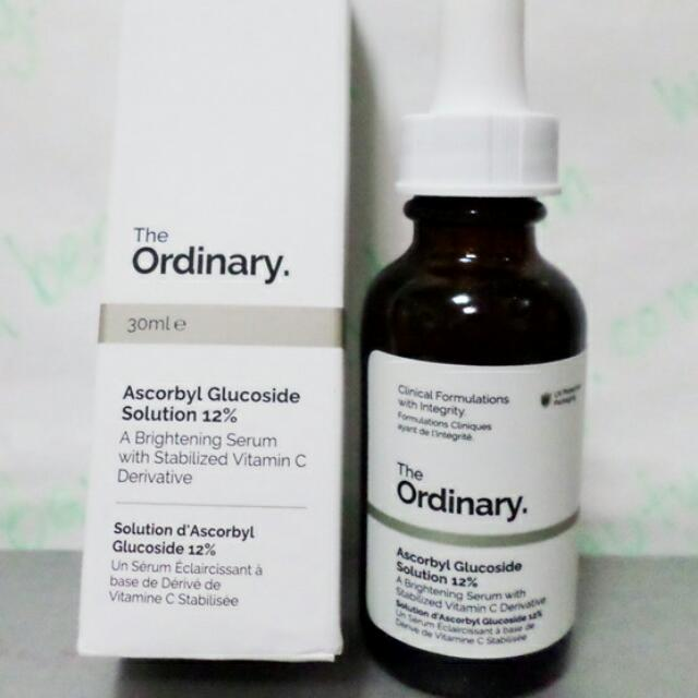 Preloved The Ordinary Ascorbyl Glucoside Solution 12%