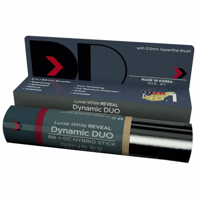 LUXXE WHITE REVEAL DYNAMIC DUO BB STICK