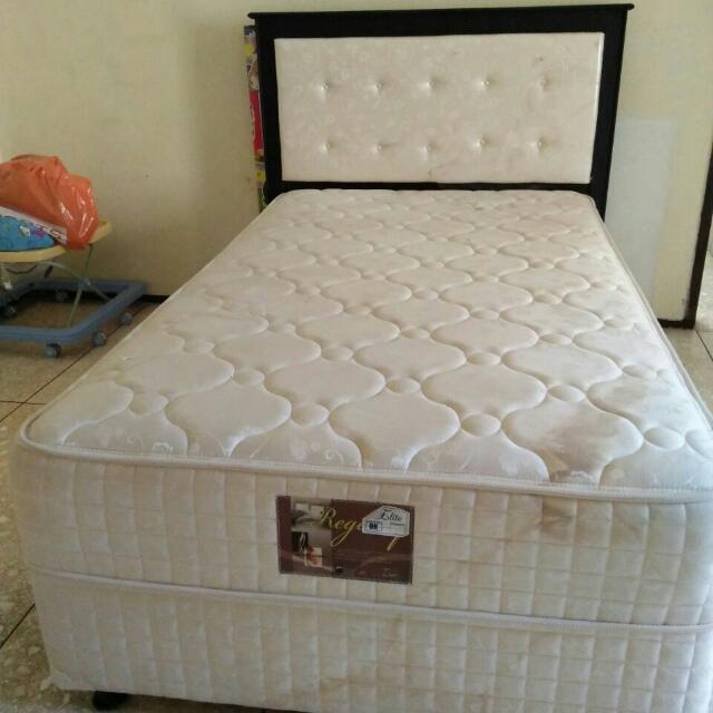 Ranjang Single Bed Merk Elite