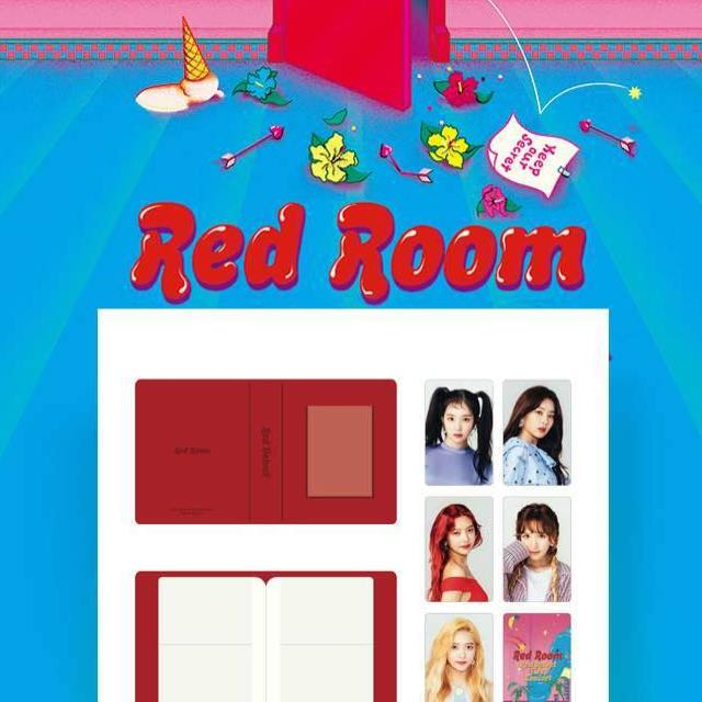 Red Room Official Goods Red Velvet Badge SM Town Red Velvet