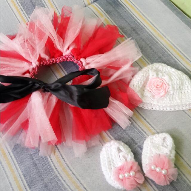 REPRICED! tutu skirt and crochet set