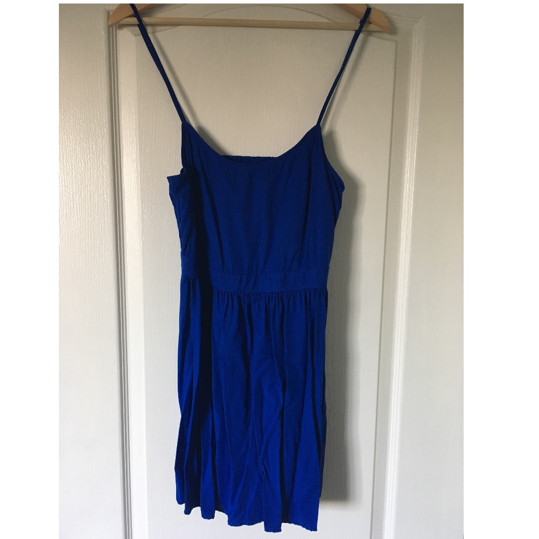 Royal blue American Eagle strappy dress (S)