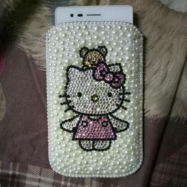 Sarung Hp Hello Kitty Blink
