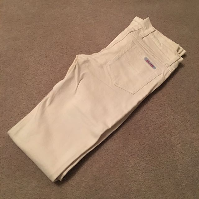 *NEW* Sass And Bide White Boot Cut Jeans Size 26