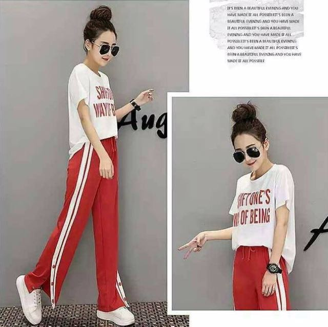 Shirt And Pants Set