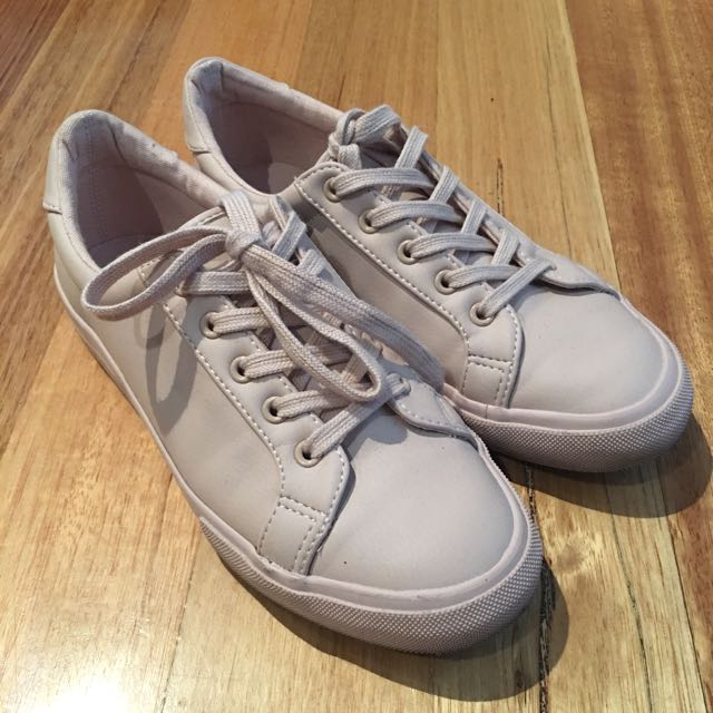 Size 38 Sportsgirl Pinkish Nude Shoes