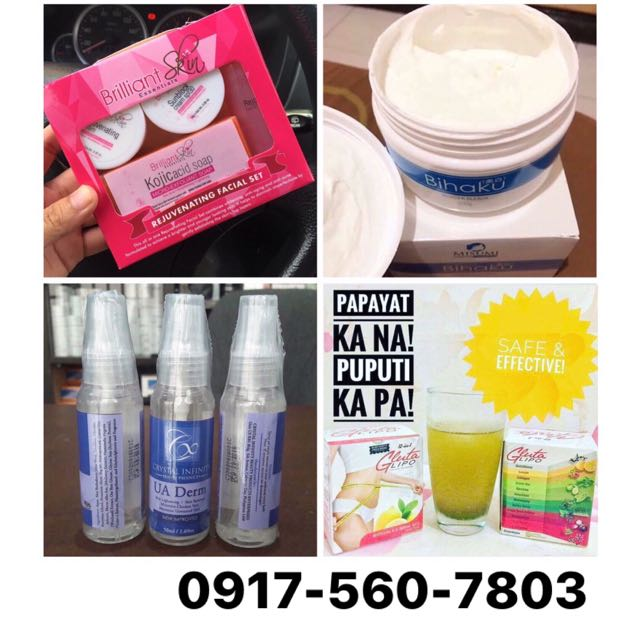 SKINCARE & WHITENING PRODUCTS • SLIMMING JUICE
