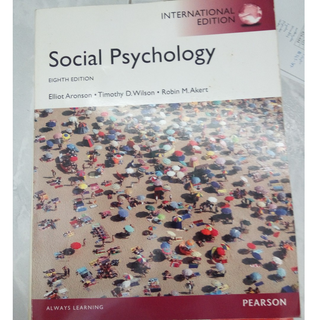 Social psychology e aronson t d wilson r m akert 8th photo photo photo photo fandeluxe Gallery