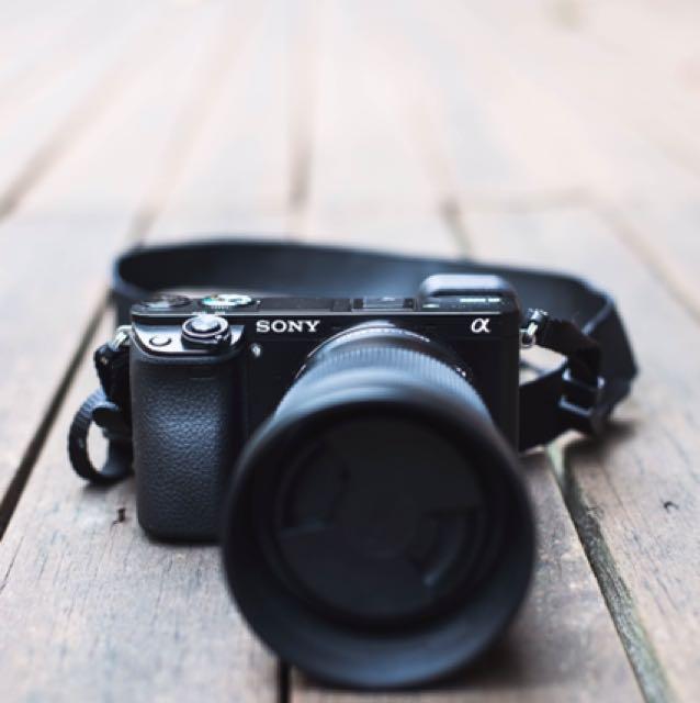 Sony A6000 bundle(3 lens) kit lens, ultra-wide angle,  portrait lens