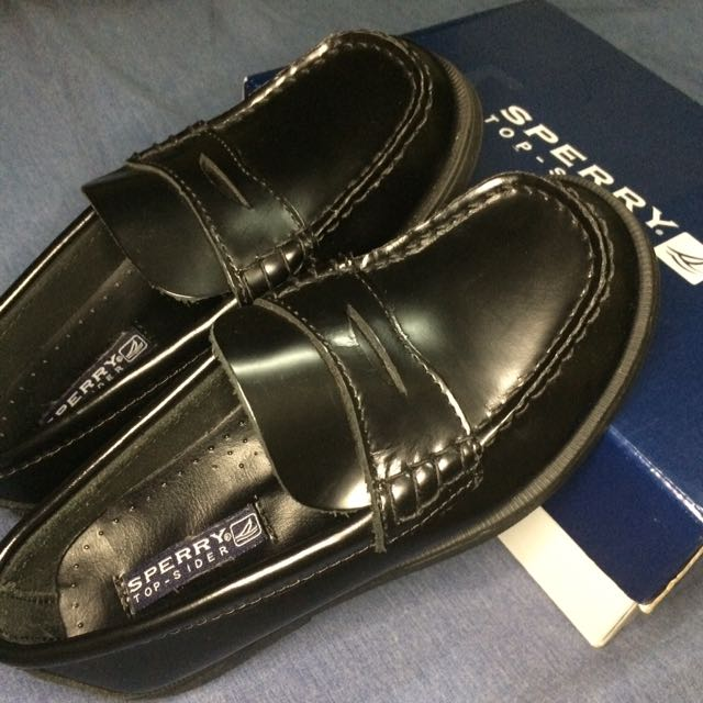 Sperry Black Leather Shoes