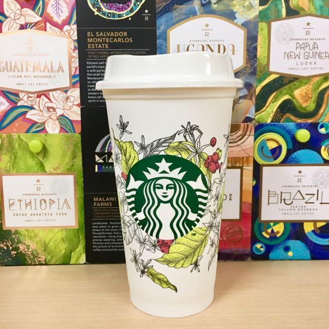 "Starbucks Reusable cup ""Green"""