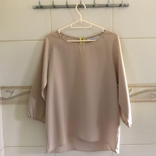 Starmimi Nude blouse