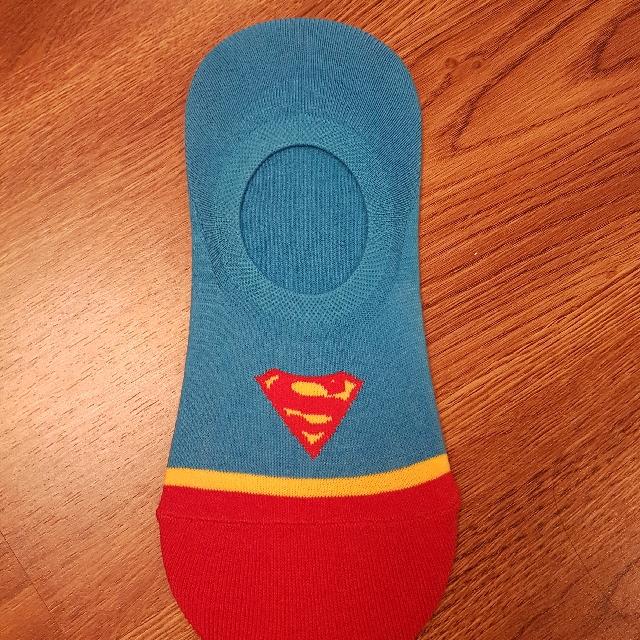 Super man character socks