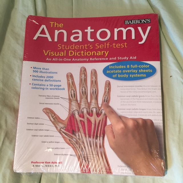 The Anatomy Student's Self-test Visual Dictionary