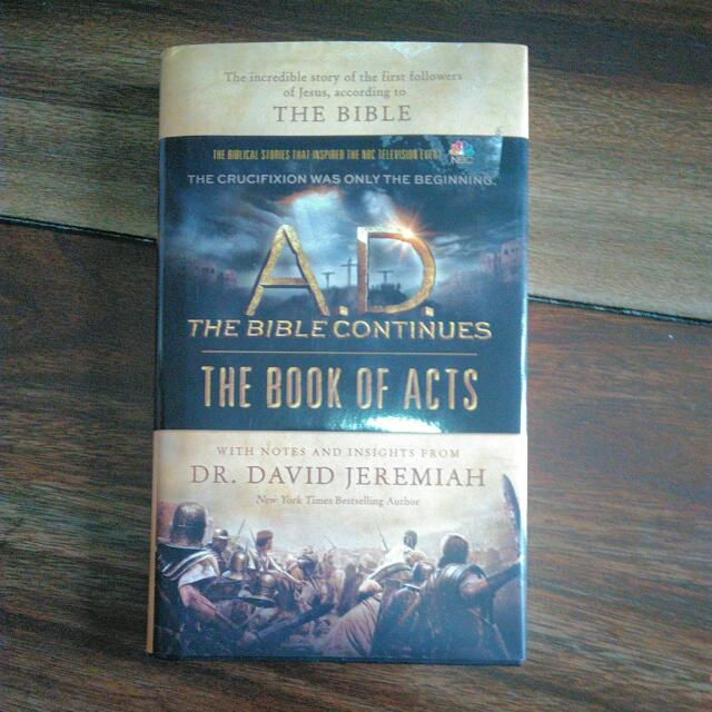 The Bible Continues: The Book Of Acts