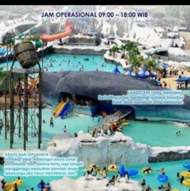 Tiket Snowbay Tmii Tickets Vouchers Attractions On Carousell