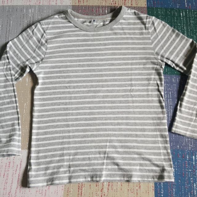 Uniqlo Long Sleeve Grey