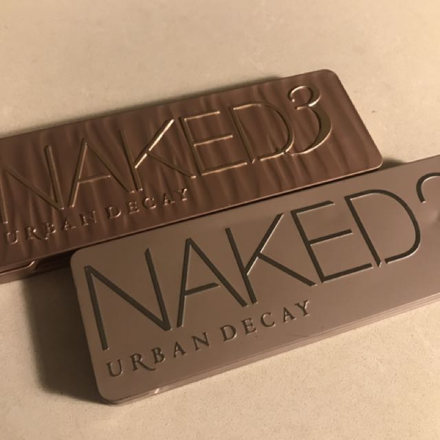 Urban Decay Naked 2 & 3