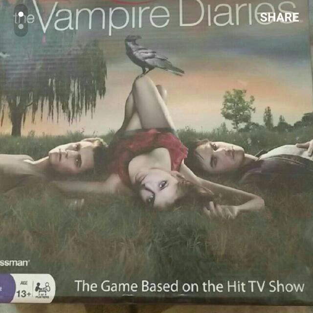 Vampire Diaries Board Game