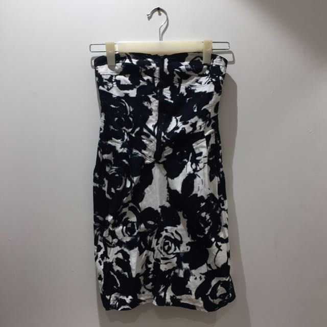 Y.R.Y.S. Black and White Dress