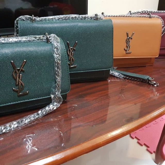 YSL Sling Bag Real Leather (High Quality)