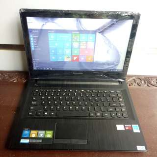 Laptop Lenovo G40-80E1 Slim Gaming Grafish AMD A8 R5 Graphics 1GB