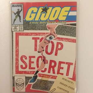 Marvel - G.I. Joe #93 (Snake Eyes)