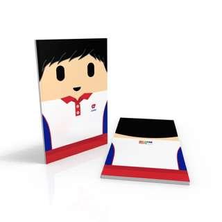 PCF Sparkletots Boy Uniform - PAP community Foundation Notebook