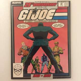 Marvel - G.I. Joe #86 : Special 25th Anniversary Issue