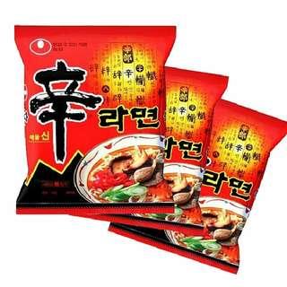 Nongshim Korean Ramyun & Noodles