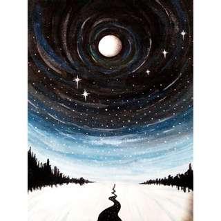 3 Night Paintings