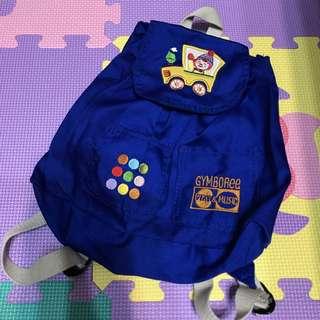 (二手) 兒童 包包 藍色 小丑 後揹包🌀