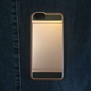 Rose Gold ID Compartment iPhone 6 Case