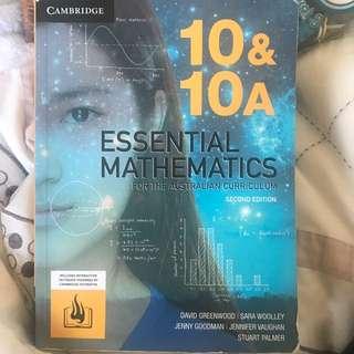 Essential Mathematics Cambridge 10&10A