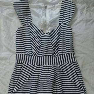 Black N White Dress