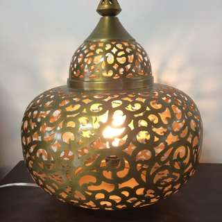 Oriental Lamps. At Casa Suarez