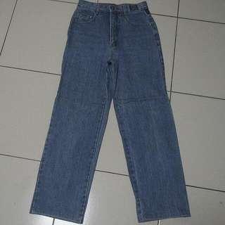 27腰VERSACE淺藍色牛仔褲~077(降價🔽)