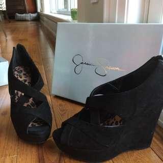 Jessica Simpson Black Heels Size 7.5