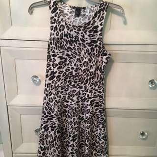 H&M Cheetah Dress Size S
