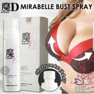 Mirabelle Bust Care Spray. Increase Bust Size 2 Times! / Breast Enlargement