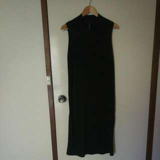 Black Cotton Dress By : Nobody Denim