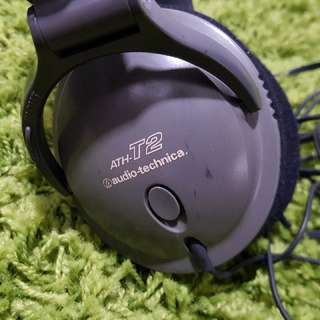 Audio Technica ATH-T2 Music/Gaming Headphones (3.5mm Audio Jack)