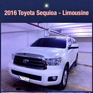 TOYOTA Sequoia 2016 Limousine