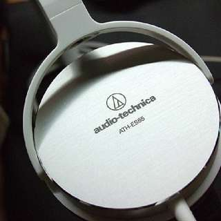 Audio Technica ATH-ES55 (WHITE) Music/Gaming Headphone (3.5mm Audio Jack)