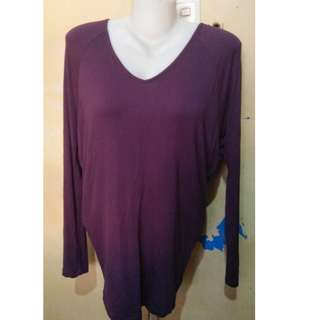 Pullover Bench Purple M